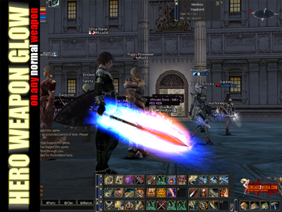 hero glow lineage 2 enchant augmentation modification